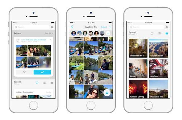 Share event photos with friends via another new Facebook app