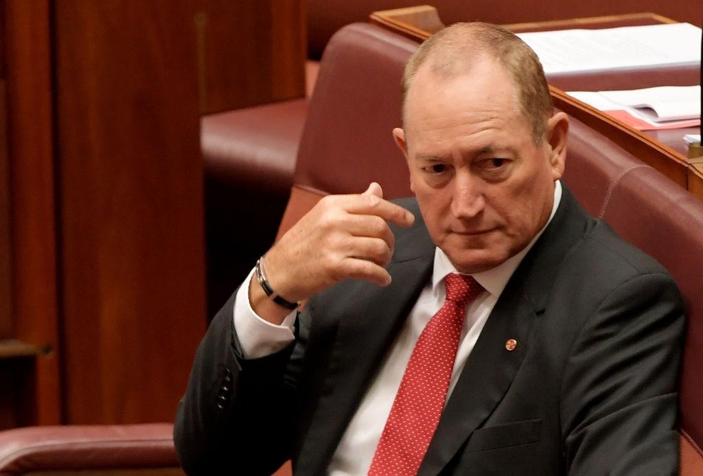 Fraser Anning faces bankruptcy over unpaid debts