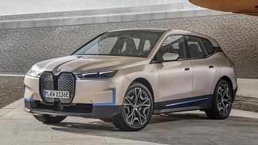 BMW iX 全球首發成為品牌電動車技術旗艦,馬力500匹、續航里程300哩