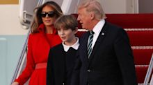 Donald Trump says he is staying in New Jersey to save money despite spending millions on Mar-a-Lago weekends