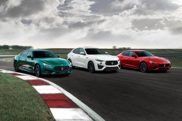 兼具剽悍性能與義式奢華!Maserati Ghibli Trofeo、Quattroporte Trofeo震撼登場