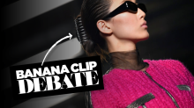 Banana clip or claw clip? The controversy that shook the internet