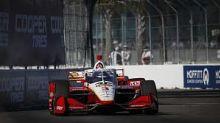 McLaughlin upbeat despite crash on IndyCar debut