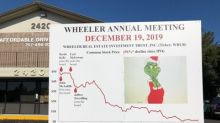 The Stilwell Group Sends Second Letter to Shareholders of Wheeler Real Estate Investment Trust