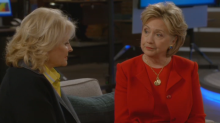 'Murphy Brown' stars reveal Hillary Clinton's cameo was 'very emotional'