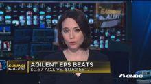 Agilent drops on weak earnings guidance