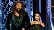 A Family Affair! Jason Momoa and Stepdaughter Zoë Kravitz Unite as Golden Globes Presenters