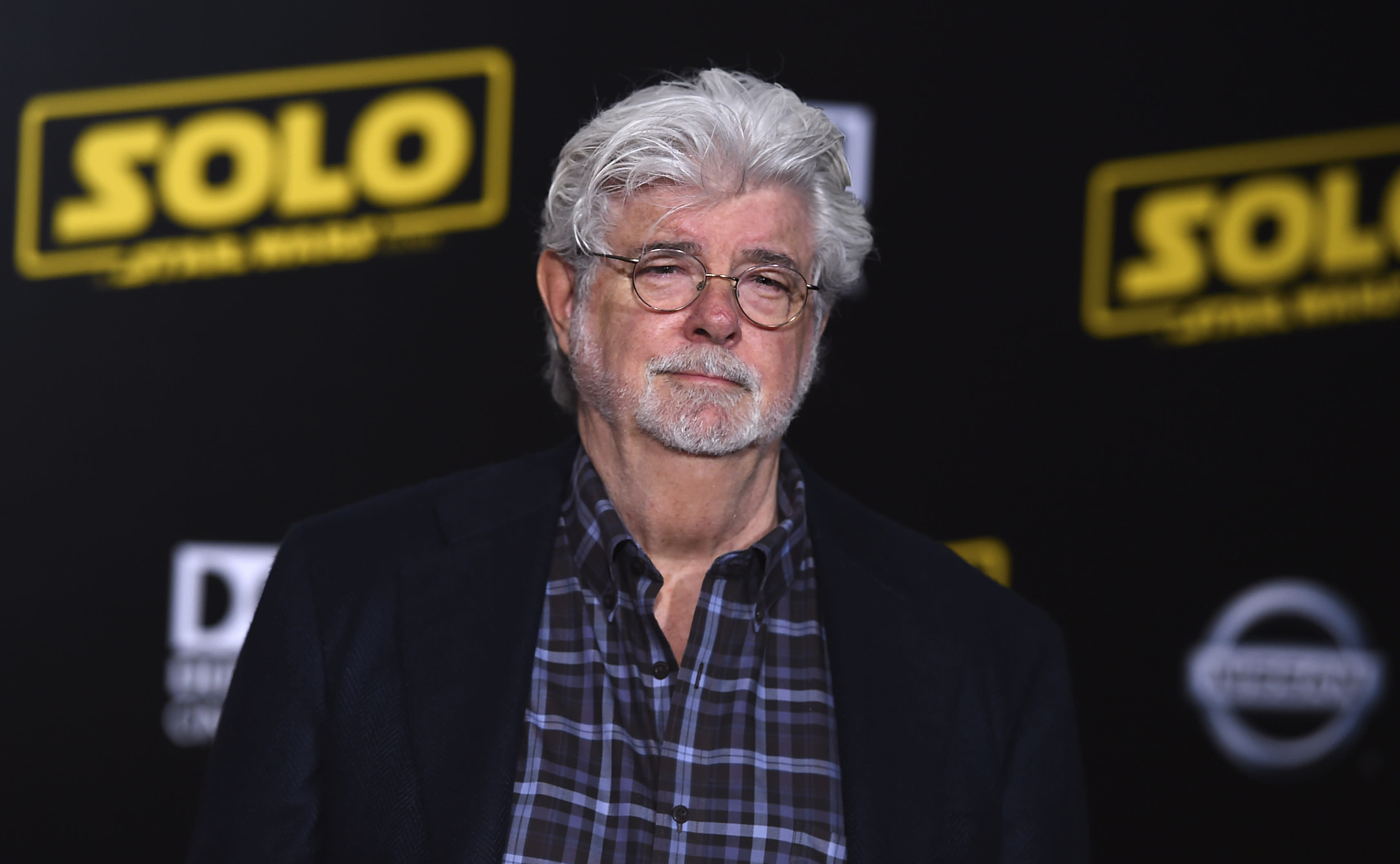 George Lucas met Baby Yoda on the set of 'The Mandalorian'