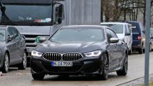 BMW 8-Series Gran Coupe spied testing almost undisguised