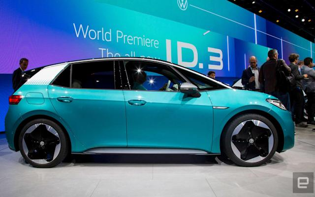 Volkswagen begins pre-production of its ID.3 EV in China