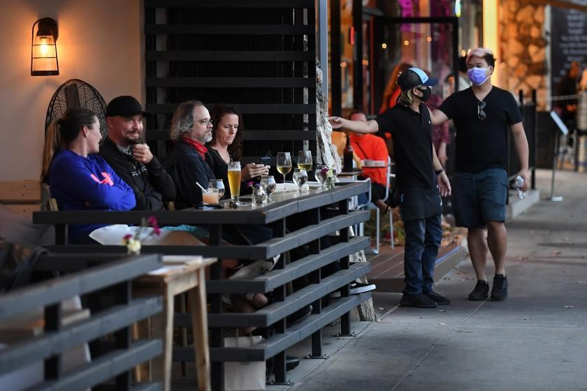 Plea by L.A. restaurants to lift dining ban rejected
