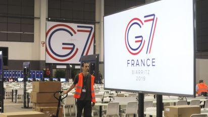 Nach Druck vor G7-Gipfel: Macron erlaubt Kritikern Zugang