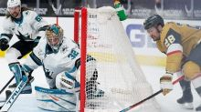Golden Knights clinch playoff berth with 5-2 win over Sharks