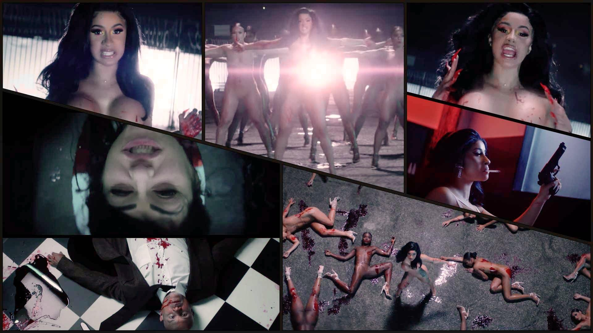 Cardi B S Press Music Video Is Full Of Naked Bodies And Murder