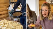 TikTok user sets internet ablaze with video of her family's 'unsanitary' dinner: 'A waste of food'