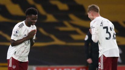 Arsenal are too reliant on Saka and Smith Rowe, admits Mikel Arteta