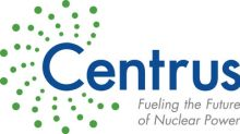 Centrus Finalizes Three Year Contract to Demonstrate HALEU Production