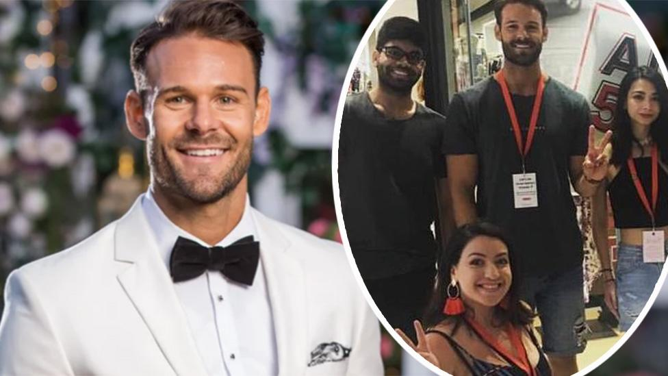 Bachelorette favourite Carlin pictured working at Cotton On