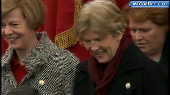 Massachusetts politicians represented well at inauguration