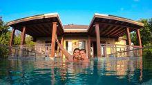 Deborah Secco e Hugo curtem resort com diária de R$ 5349 nas Maldivas