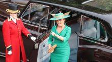 尤金尼公主大婚被媽媽搶盡風頭!莎拉驚艷帽飾層出不窮