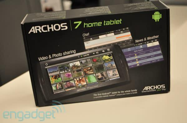 Archos 7 Home Tablet now shipping, days ahead of schedule
