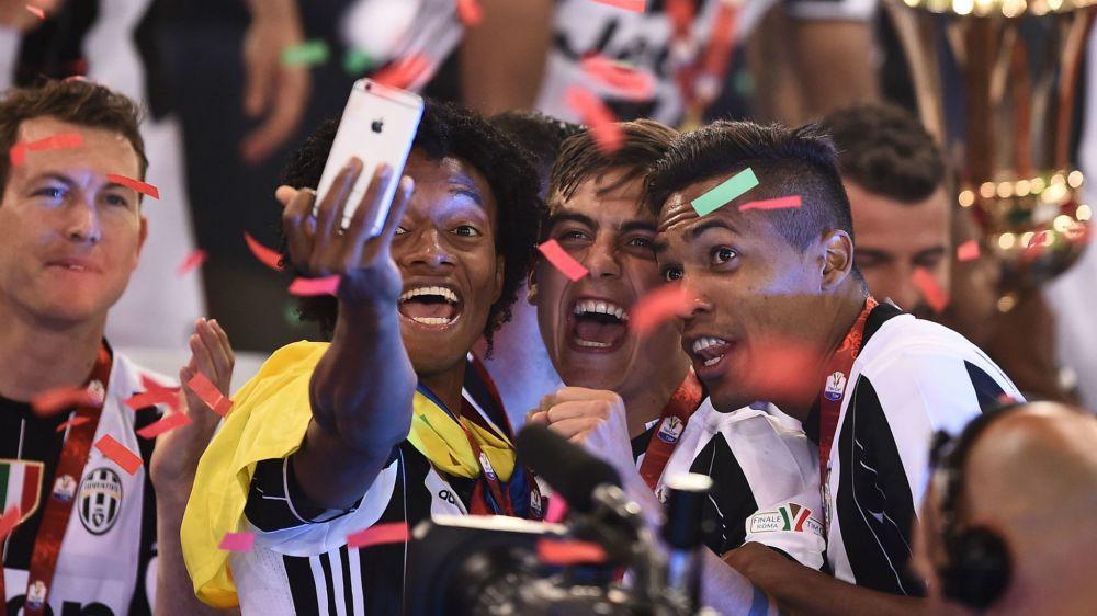 Cuadrado busca su tercer título con Juventus