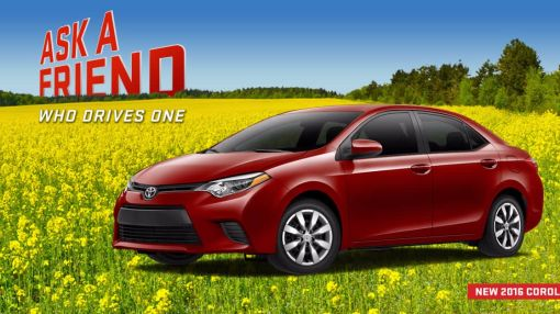 Checkout the New Look of the 2016 Corolla