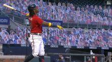 Ronald Acuña Jr.'s 495-foot homer