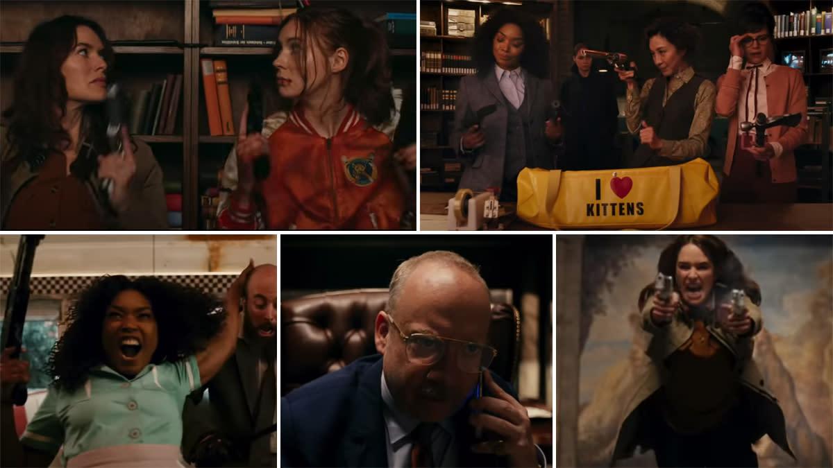 Gunpowder Milkshake Trailer: Karen Gillan Teams Up With Lena Heady To Save  A Girl In This All Guns And No Roses Netflix Movie (Watch Video)