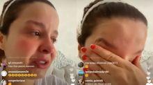 Maiara chora e pede fim de ataques nas redes após fim de namoro