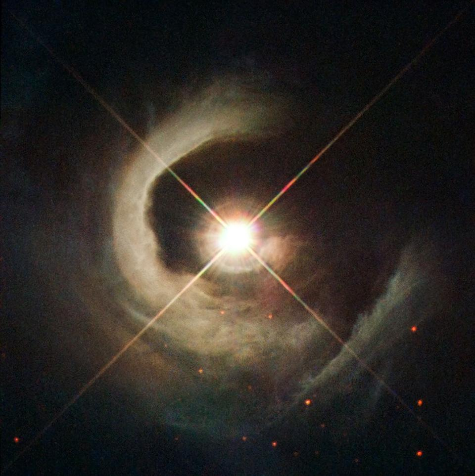 The Big Picture: A young star poses for its close-up