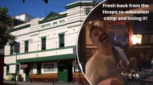 'Crankiest bartender in town': Pub's cheeky response to negative review