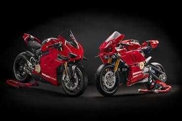 超過200萬的重機,只要不到2000元就帶回家,Lego推出Ducatti Panigale V4 R積木組!