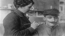 La escultora que realizó máscaras para el rostro desfigurado de los soldados de la Primera Guerra Mundial