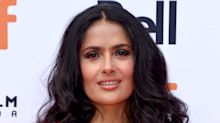 Salma Hayek Let Her 11-Year-Old Daughter Cut Her Hair
