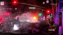 Santa Ana: At least 4 killed in suspected DUI crash