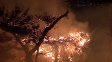 Wildfire Prompts Evacuations in Sicily