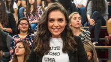 Mônica Iozzi fala sobre personagem estuprada em série: 'Trabalho mais difícil da minha vida'