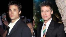 Brad Pitt Transforms Into His '90s Heartthrob Self Thanks to a Simple Shave
