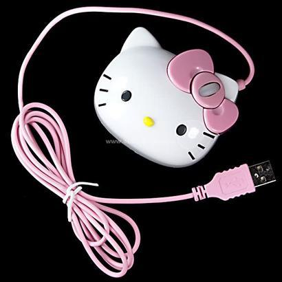 Hello Kitty mouse: does it chase itself?