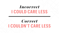 Common Phrases You're Probably Using Incorrectly