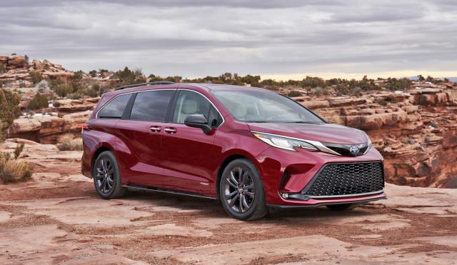 Toyota's 2021 Sienna minivans will all be hybrids