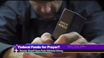 Should federal money pay for programs that include prayer?