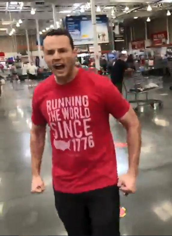 'I feel threatened': Unmasked Florida man's viral Costco outburst cost him his job