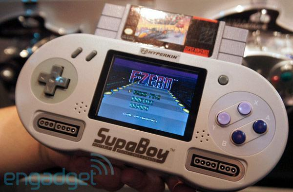 Hyperkin SupaBoy portable SNES console hands-on (video)
