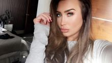 Lauren Goodger Has Her Lip Fillers Removed