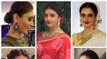 From Rekha to Aishwarya, Bollywood beauties are rocking the elegant bun and how!