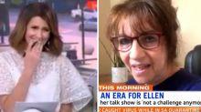 Sunrise host Nat Barr shocked after Ellen producer's 'scathing' tirade