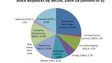 A Foolish Take: Which Sectors Do the Most Stock Buybacks?